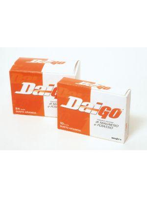 Daigo Magnesio e Potassio integratore 24 buste