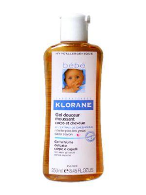 Klorane BéBé Gel delicato corpo/capelli 500 ml