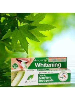 Dr.Organic Aloe Vera Dentifricio 100 ml Linea Calmante