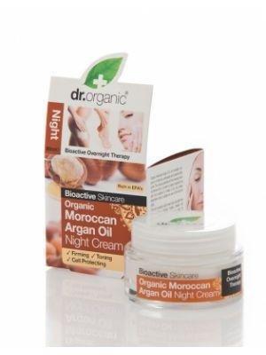 Dr. Organic Argan Crema Notte 50 ml