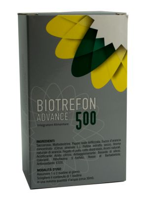 Biotrefon Advance 500 bustine adulti