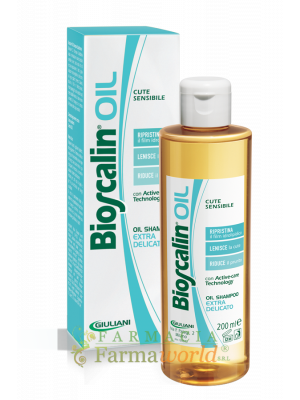 Bioscalin Oil Shampoo Ex Delicato 200ml