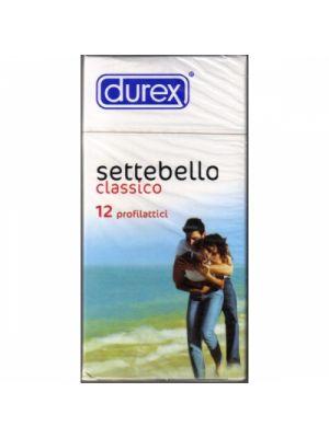 Durex Settebello classico profilattici 12 pz