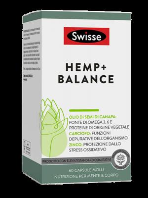 Swisse Hemp+ Balance 60 capsule molli