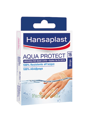 Hansaplast Cerotti Aqua Protect Mani