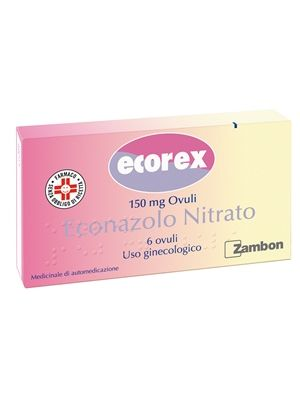 ECOREX*6 OVULI VAGINALI 150MG