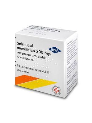 SOLMUCOL MU*24CPR OROSOL 200MG