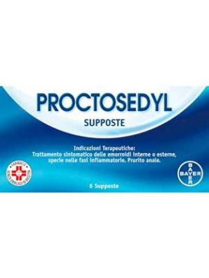 PROCTOSEDYL*6SUPPOSTE