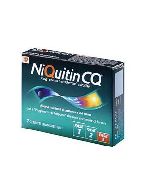 NIQUITIN*7CER TRANSD 7MG/24H