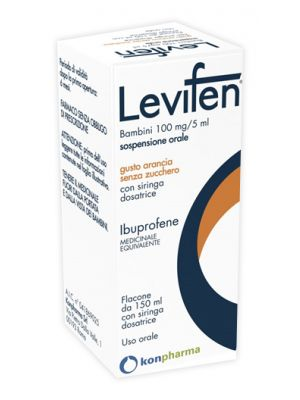 LEVIFEN*OS 150ML 100MG/5ML ARA