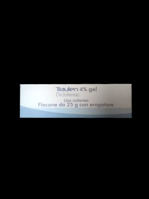 TRAULEN*GEL FL 25G 4% C/EROG