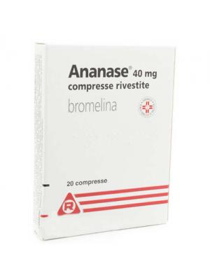 ANANASE*20CPR RIV 40MG