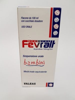 FEVRALT*BB OS SOSP 100MG/5ML