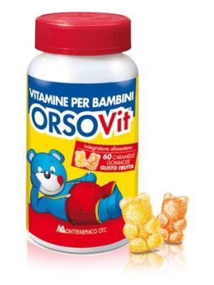 Orsovit Caramelle Gommose  60 pezzi