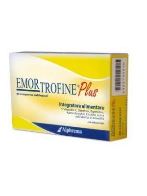 Emortrofine Plus 40 Compresse