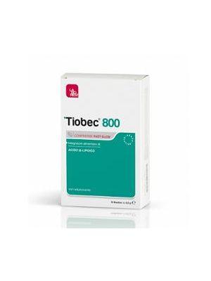 Tiobec 800  Compresse Fast-slow 32g