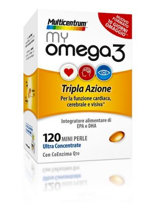 Multicentrum Myomega3 120 Perle