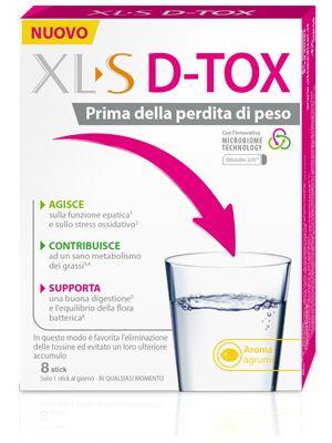 Xls D Tox 8stickpack