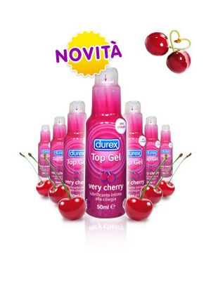Durex Top Gel very cherry lubrificante 50 ml
