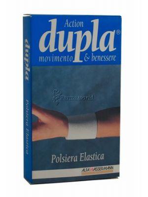 Dupla Polsiera Elastica Bianca L