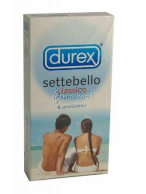Durex Settebello classico profilattici 6 pz