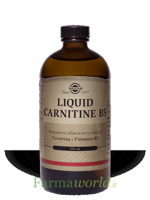 Solgar Liquid Carnitine B5 470 ml