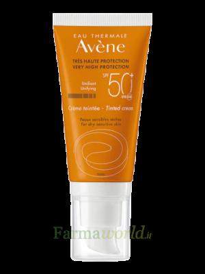 Avene Solari Crema Spf50+ Col 50ml