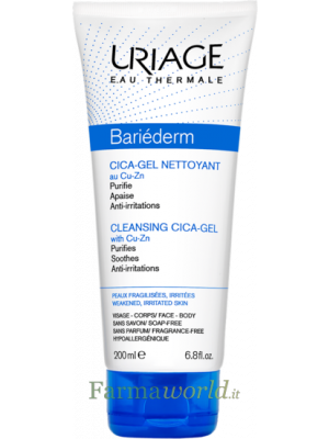 Uriage Bariederm Cica-gel Det 200 ml