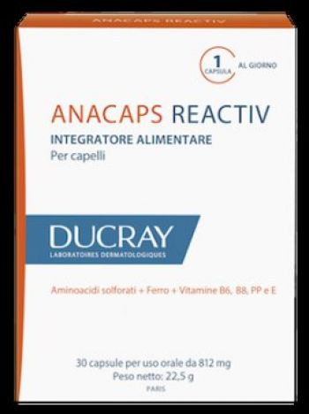 Anacaps Reactiv Ducray  30cps