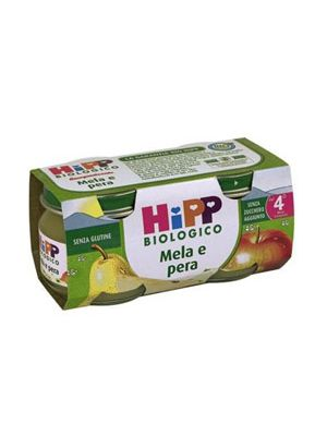 Hipp Bio Omogeneizzato Mela-Pera mesi 4+