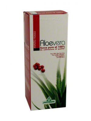 Aloe Puro succo mirtillo rosso 500 ml