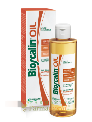 Bioscalin Oil Shampoo Nutritivo 200ml