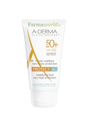 Aderma Protect AC Spf50+ Fluido 40 ml