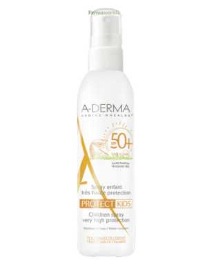 Aderma Protect Kids Spf50+ Spray 200 ml