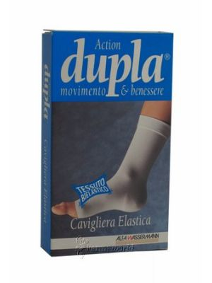 Dupla Cavigliera Elastica Blu L