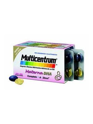 Multicentrum Materna DHA Integratore 30 + 30 cps
