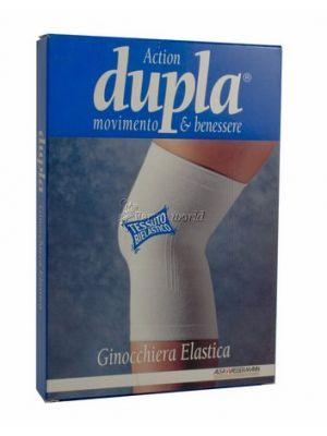 Dupla Ginocchiera Elastica Bianca XL