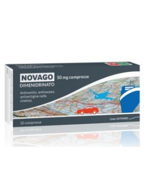NOVAGO*10CPR 50MG