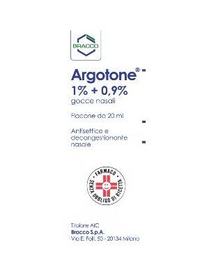 ARGOTONE*GTT RINO 20ML