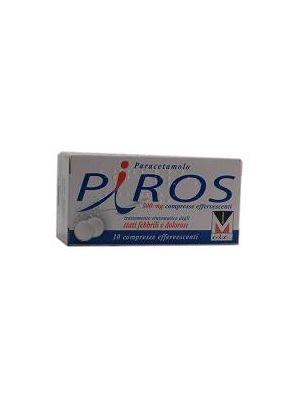 PIROS*10CPR EFF 500MG
