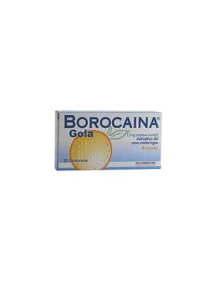 BOROCAINA GOLA*20PAST1,5MG ARA