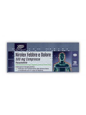 NIROLEX FEBBRE DOL*20CPR 500MG