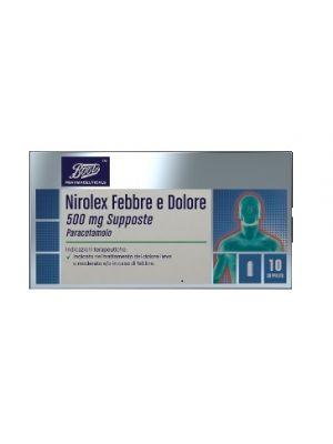 NIROLEX FEBBRE DOL*10SUPP500MG