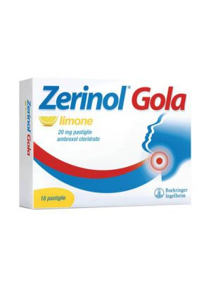 ZERINOL GOLA LIMO*18PAST 20MG
