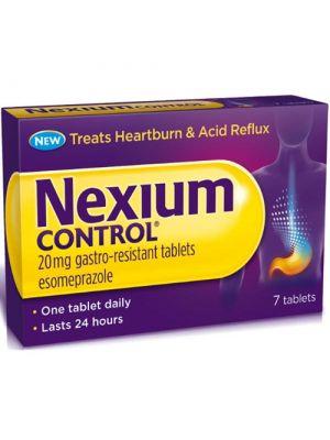 NEXIUM CONTROL*7CPR GASTR 20MG