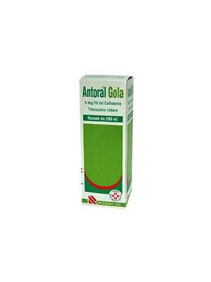 ANTORAL GOLA*COLLUT200ML 100MG