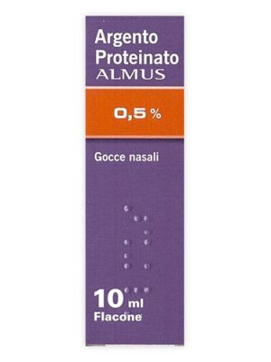ARGENTO PROTEINATO*0,5% 10ML Almus