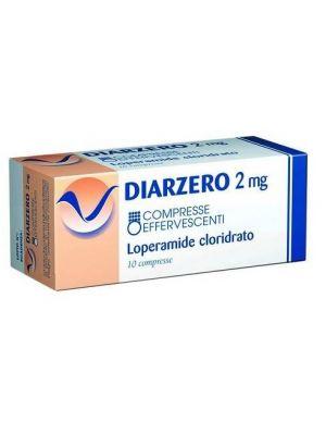 DIARZERO*10CPR EFF 2MG