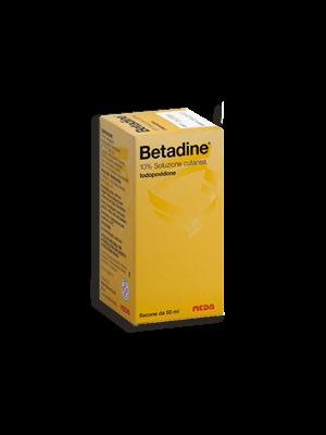 BETADINE*SOLUZ CUT FL 50ML 10%