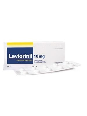 LEVIORINIL*7CPR RIV 10MG